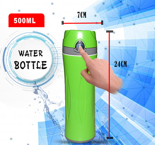 Easy Cool Water Bottle For Kids - Green - Hiffey