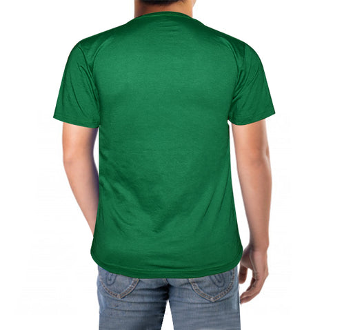 New Pakistan Printed T-Shirt For Men's - Dark Green - Hiffey