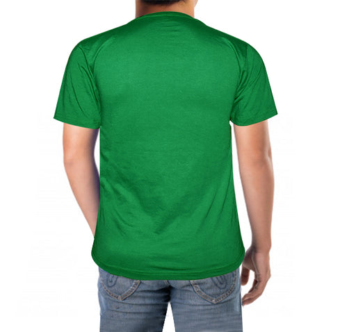 14 August T-Shirt For Men's - Dark Green - Hiffey