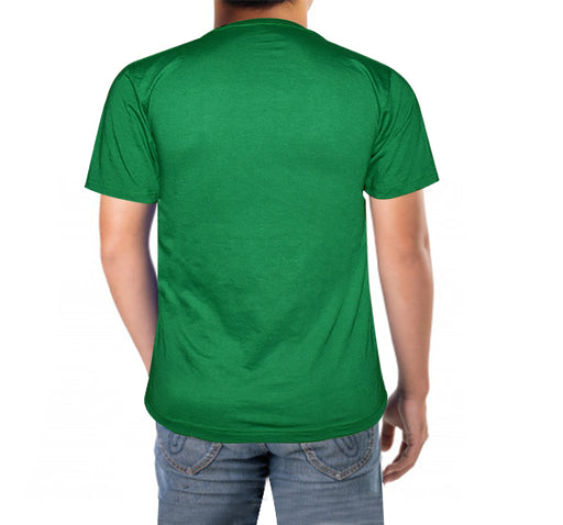 14 August Shaheen Printed T-Shirt For Men's - Light Green