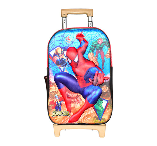 Spiderman The Super Avenger Trolley School Bag - Multicolor - Hiffey