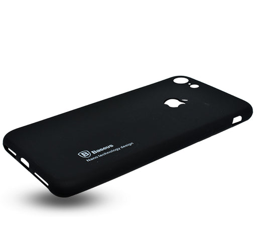 Apple Iphone 7 Simple Back Cover - Black - Hiffey