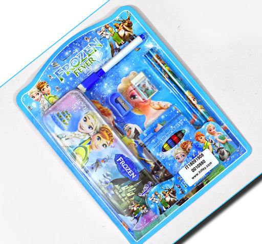 Barbie Frozen Fever Princess Set Of 5 Stationery Items - Hiffey