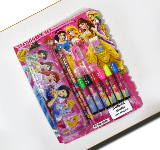 Disney Princess Set Of 5 Stationery Items - Hiffey