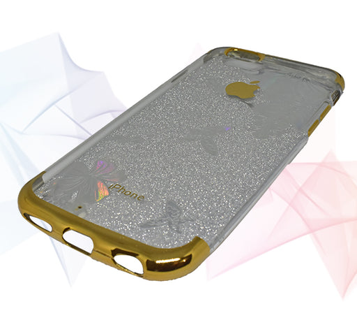 Apple Iphone 6 Shiny Textured Mobile Back Cover - Golden - Hiffey