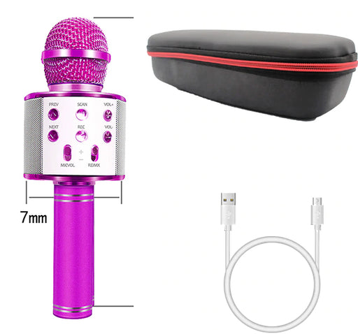 Bluetooth Wireless Microphone With HIFI Speaker - Hiffey
