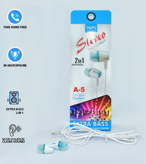 Strong Bass 2in1 Universal Stereo Headset