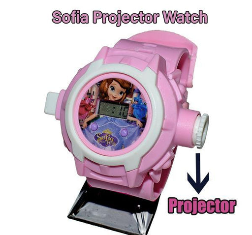 Sofia Projector Watch For Kids - Hiffey
