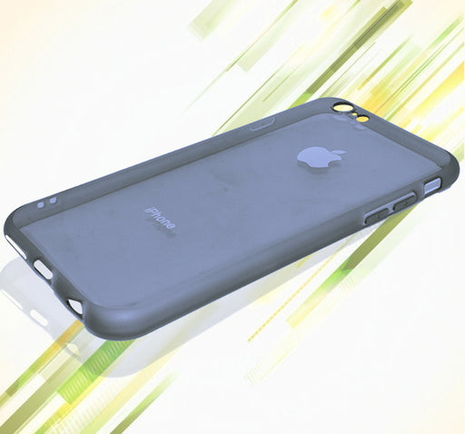 Apple Iphone 6 See Through Back Cover - Grey - Hiffey