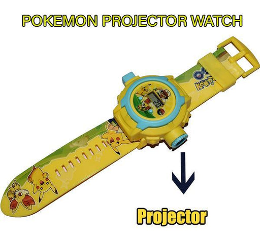 Pokemon Projector Watch For Kids