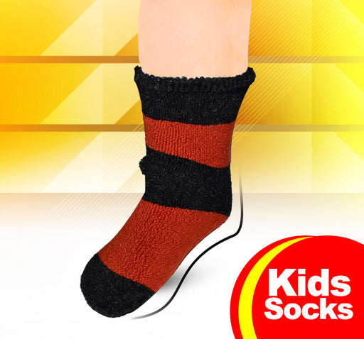 Winter Thermal Warm Socks For Kids - Multicolor - Hiffey