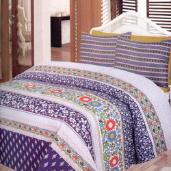King size Bed linen Cotton Printed 3 Piece