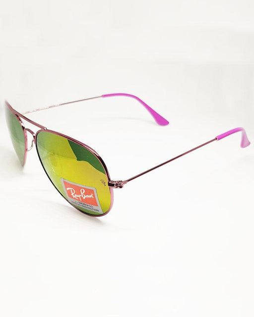 RayBan Purple Multi Color Shade Sunglasses - Hiffey