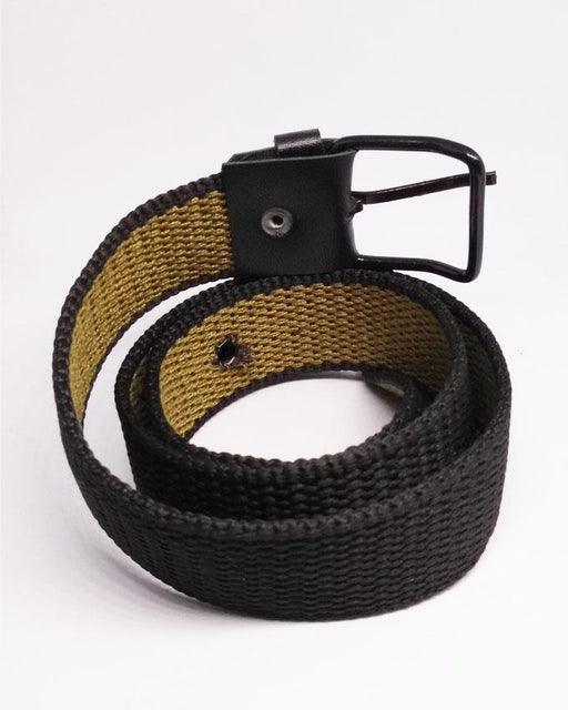 Cotton Belts For Kids - Black - Hiffey