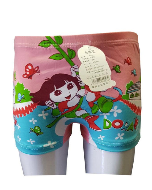 Peach and Blue Dora Boxers for Kids - Hiffey