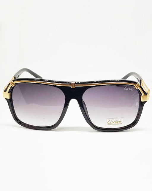 Cartier Golden Square Frame Sunglasses - Hiffey