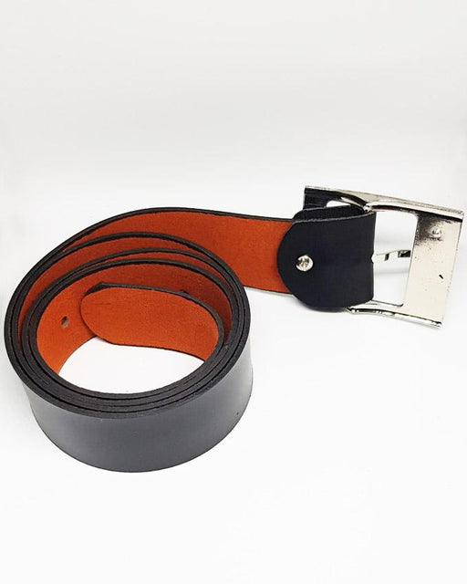 Boss Leather Belts For Men - Black - Hiffey