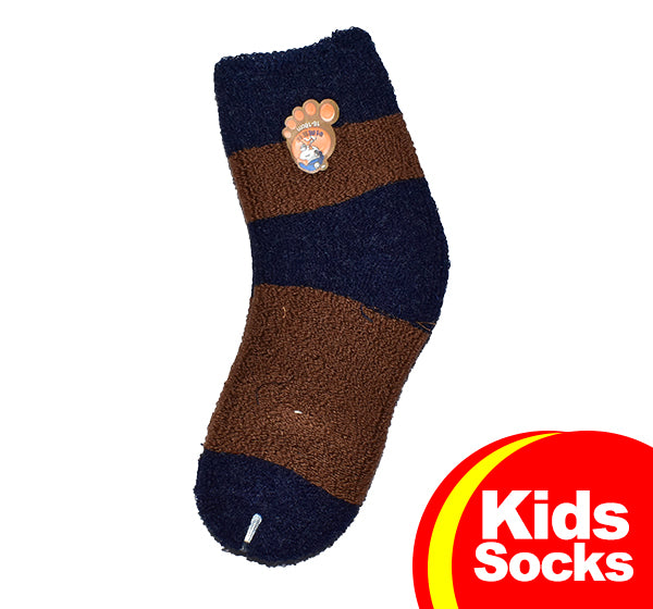 Winter Thermal Warm Socks For Kids - Multicolor