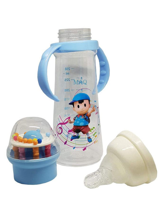 MAQ Baby Feeding Bottle 8 oz - Blue - Hiffey