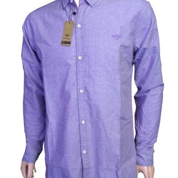 Dockers Casual Full Sleeves Shirts For Men - Purple