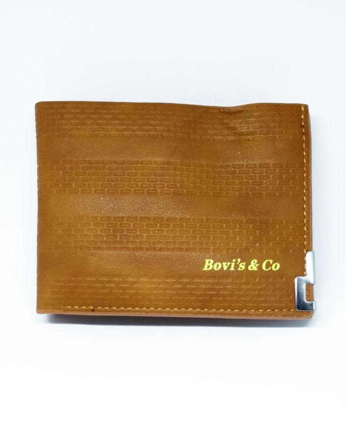 Bovis & Co Wallet - Camel Brown