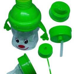 Jiaai Feeding and Drinking Cup - 3 in 1 - 11 oz - Green