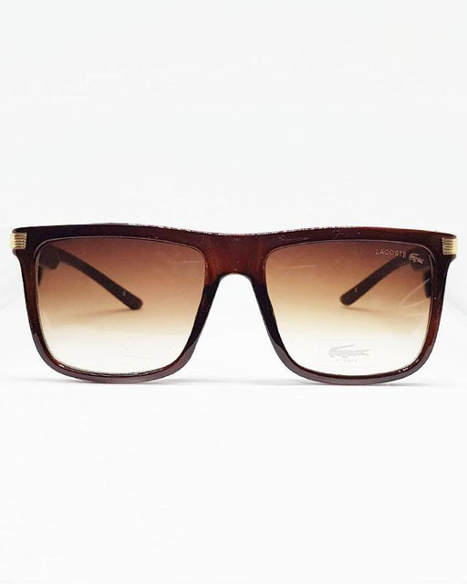 Lacoste Square Brown Shade Sunglasses - Hiffey