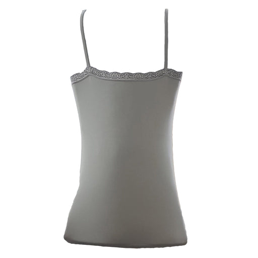 Grey stylish cotton Tank Top - for girls - Hiffey