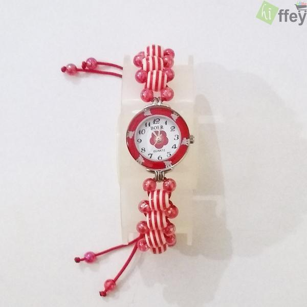 Bracelet Watches For Ladies - Red