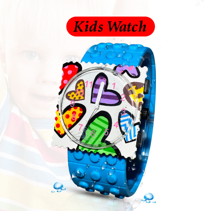 Wrist Band Watch For Kids - Blue