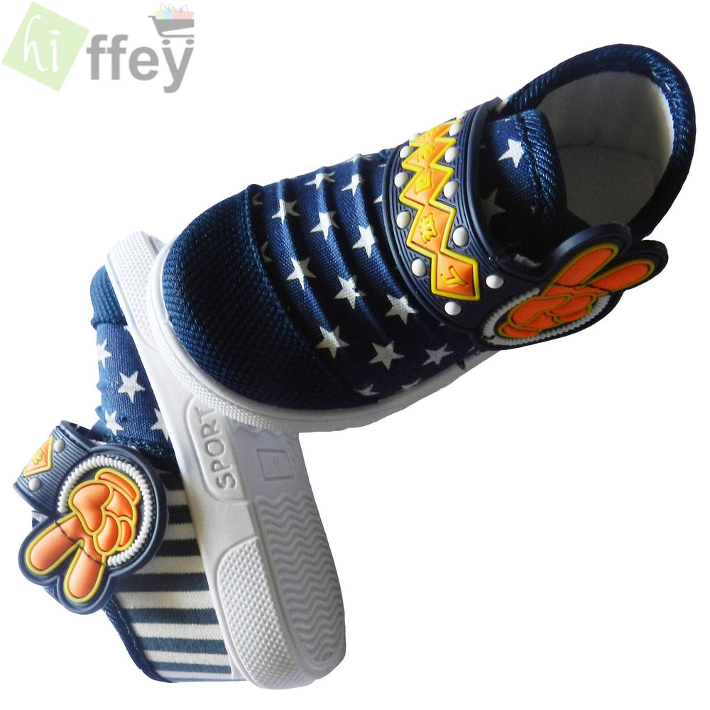 Star Blue Shoes for Boys