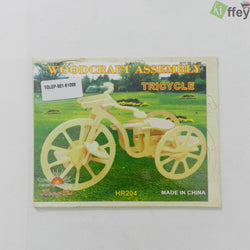 3D Puzzle Toy - Tricycle