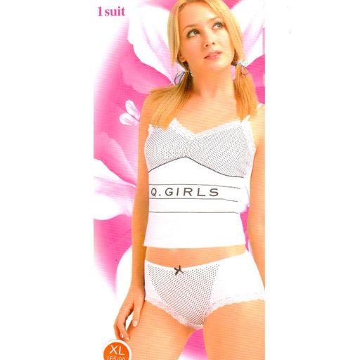 White Q Girls Nighty Suit for Girls and Women - Hiffey