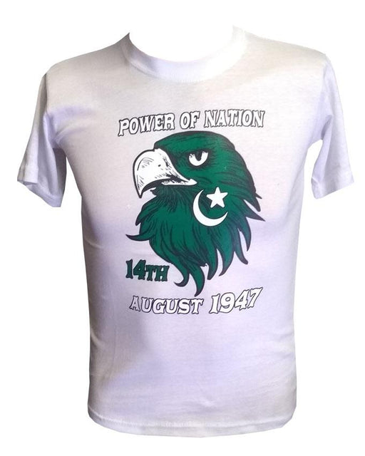 Power Of Nation Style Fashion T-Shirt - Hiffey
