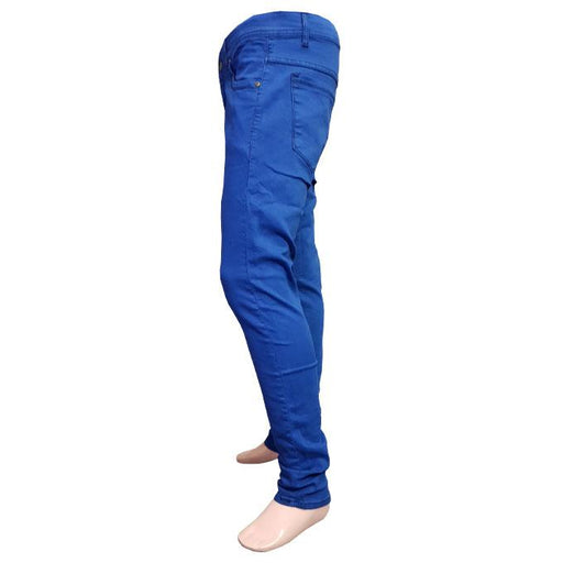 Branded Blue Jeans Slim Fit for Men - Hiffey
