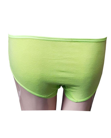 Apple Green Comfortable Stretchy Panty
