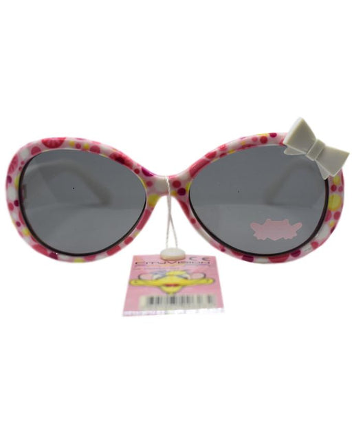 City Vision White Flowers Printed Sunglasses for Kids - Hiffey