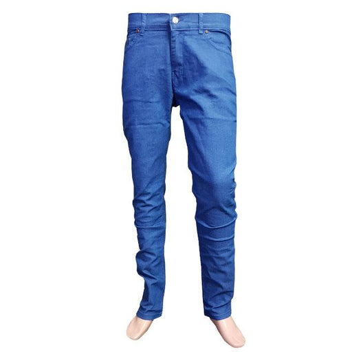 Branded Light Blue Jeans Slim Fit for Men - Hiffey