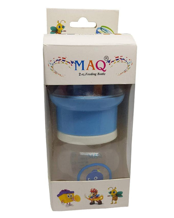 MAQ Baby Feeding Bottle 2 oz - Blue - Hiffey