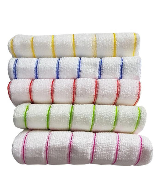 Microfiber Kitchen Cleaning Towels - Pack of 5 - Hiffey