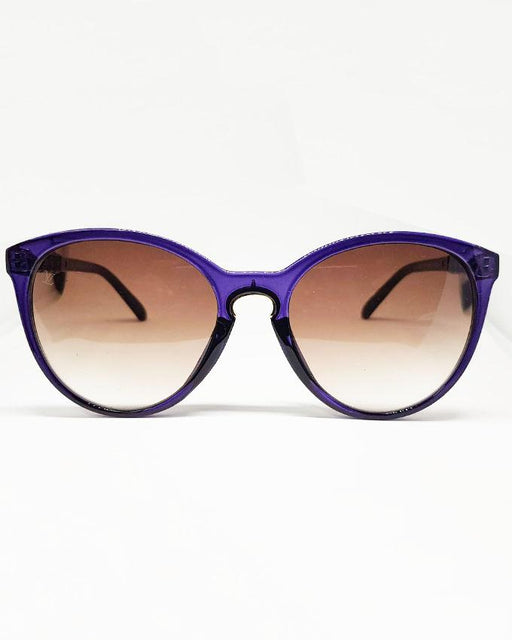 Louis Vuitton Blue Frame Brown Shade Sunglasses - Hiffey