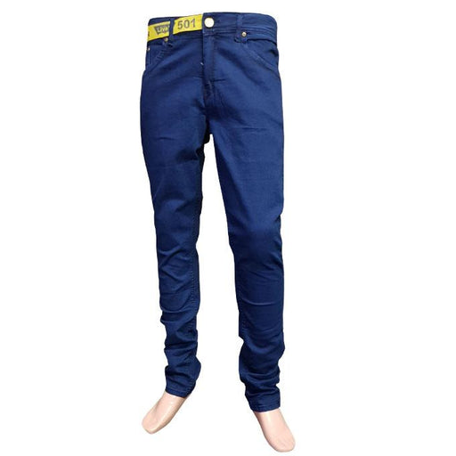 Branded Jeans Dark Blue for Men - Hiffey