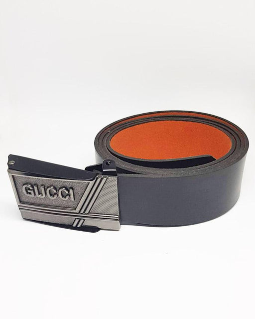 Gucci Leather Belts For Men - Black - Hiffey