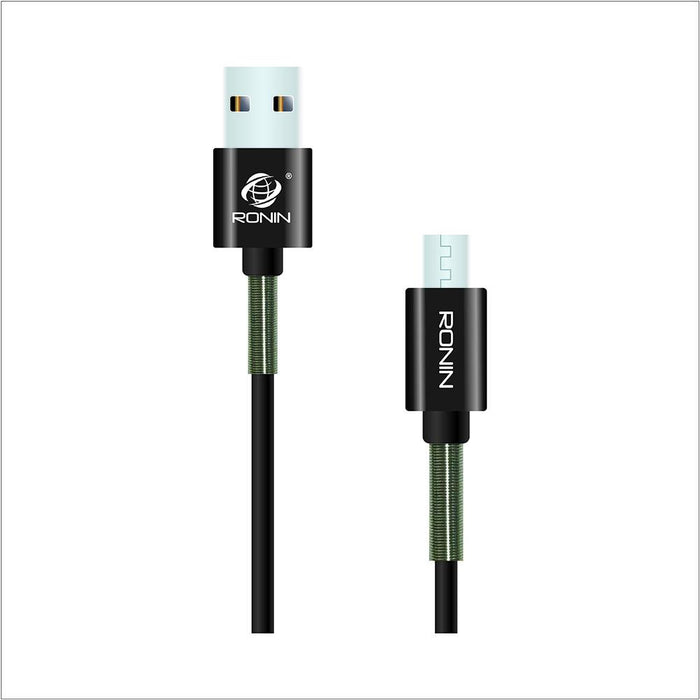 2 Meter Spring Data Cable - Android 2.1A - R-900 - Hiffey
