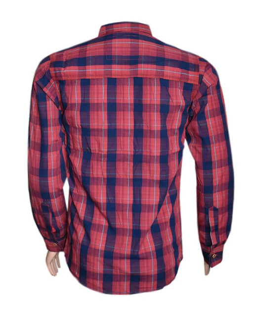 US Polo Assn. Full Sleeves Checkered Shirt For Men - Hiffey