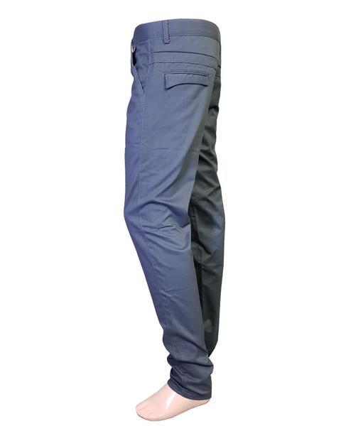 Men's Cotton Chino Pants Black Grey Clothing - Hiffey