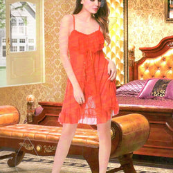 Short Fashion Stylish Exotic Nighty - A28046