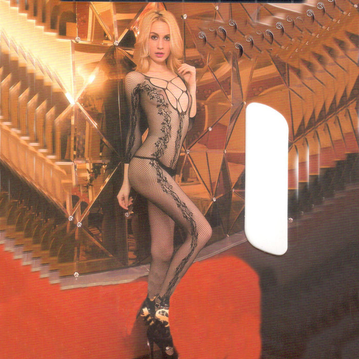 Miss Red Body Stocking - 880-40