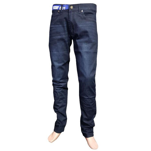 Branded Blue Tint Shade Jeans Slim Fit for Men - Hiffey