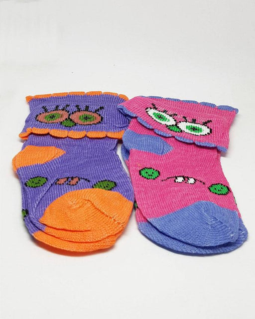 Baby Toddlers Colorful Socks - Pack of 2 - Hiffey